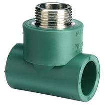 Tee Macho De 20mmx20mmx1/2 Hidraulica Tuboplus (lote 4 Pzs)