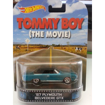 Hotwheels Retro Tommy Boy Plymouth Belvedere Gtx Llanta Goma