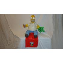 Homero Simpson Figura Muñeco Los Simpson Matt Groening