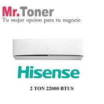 Aire Acondi Minisplit Hisense 2 Toneladas 22000 Bt Solo Frío