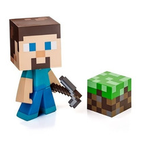 Tb Minecraft Steve Vinyl 6 Limited Edition Figure