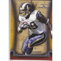 2011 Topps Five Star Extra Thick Steven Jackson Rams /129