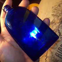 Antigua Botella Francesa De Perfume Bourjois Década 40´s