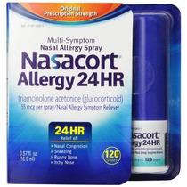 Nasacort Alergia 24 Horas 120 Sprays 0,57 Onza Líquida
