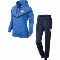 Conjunto Dama Nike Chamarra Y Pantalon Training Fit Adidas