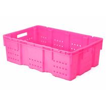 Caja De Plastico Multicontenedor Calado Ap/an 58 X 38 X 18