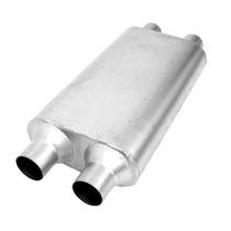 Mofle Silenciador Deportivo Thrush 17637 Doble - Doble