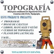 G Mapper+ Topolig+ Civilcad+ G Earth Topocal Full Topografía