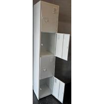 Locker Metalico, De 4 Puertas Guardaropa **nuevo**