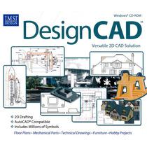 Design Cad Programa Pc Diseño Ingeniería Arquitectura Planos