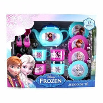 Juego De Te Princesas Frozen Disney Ideal Bolo O Regalo