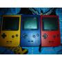 Game Boy Pocket 1 Consola Dif. Colores + Pokemon Red Y Blue