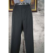 Pantalon Italiano Pal Zileri Talla 40 Negro Oportunidad