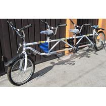 Bicicleta Triple Tandem Para 3 Niños Rodada 20 Imperio