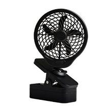 O2cool 5 Con Pilas Clip Fan Gris