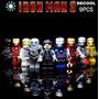Figuras Ironman Tipo Lego Iron Man