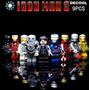 Lego Iron Man, Set Figuras Ironman