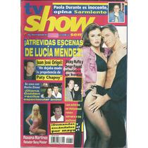 Revista Tv Show Núm. 12 Portada Lucía Méndez
