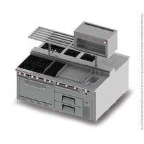 Cocina Industrial Completa 2 Bloques Con Horno Im-h-2b