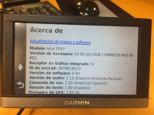 gps garmin nuvi 2597 manual