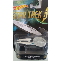 Hot Wheels Retro - Star Trek Ncc-1701 2016 Llantas De Goma