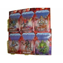 Masters Of The Universe 6 Fig. Serie 3 Merman, Roboto, Etc