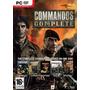 Commandos Colección Completa Juego Para Computadora Nuevo