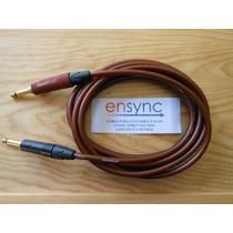 Cable De Audio Para Guitarra O Bajo Eléctricos 3 Metros