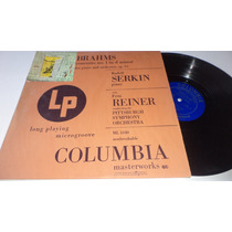 Brahms Concerto No.1 In D Minor For Piano An Orchestra Lp
