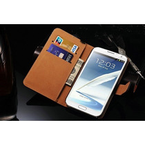 Funda Case Piel Samsung Galaxy Note 2 Ii N7100