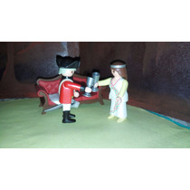 Playmobil Dama Victoriana Con General Casaca Roja Ingles Js