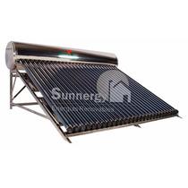 Calentador Solar Acero Inoxidable 342 Litros 30 Tubos