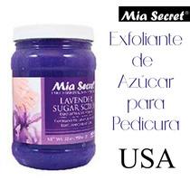 Exfoliante Mia Secret Profesional Pedicura Spa Estetica Uñas