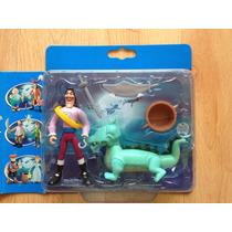 Figuras Disney Heroes Peter Pan, Capitán Garfio Y Tic Tac