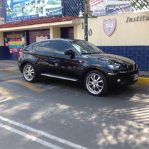 X6 Impecable Biturbo Negra, Rines 22 Bmw 2010