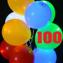 100 Globos Luminoso Globo Led Mayoreo Para Fiestas Y Eventos