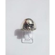 Anillo Calavera En Plata .925 Keith Richards