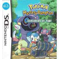 Ds, 3ds Pokemon Explorers Of Time (mercado Pago Y Oxxo)