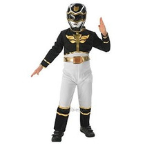 Fancy Dress - Power Rangers Megaforce Traje Negro - Niños -