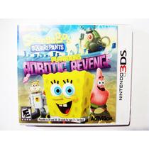 Spongebob Planktons Robotic Revenge Nintendo 3ds Bob Esponja