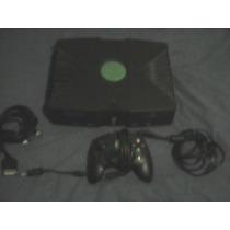 Lote Consola X Box Primera Generacion Con 5 Juegos Reparar