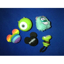 Mickey Mouse, Goofy, Sully, Mike, Monster Inc Antena Topper