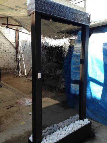 Muro lloron cristal templado for Muro cristal