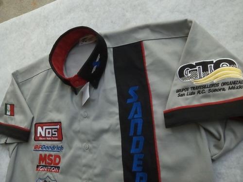 Camisas Tipo F1 Bordadas Escuderia Clubes Empresas Eventos  350 ... fc16fc87a4b56