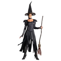 Disfraz Mujer Bruja Malvada Sexy Halloween Adulto Mago Oz