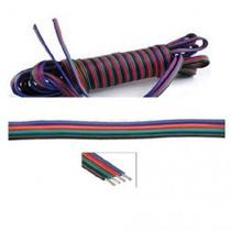Cable De 4 Hilos Para Tira Led Rgb Multicolor 5050 Y 3528