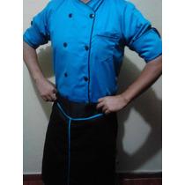 Filipina Mandil Y Gorro Chef Calidad