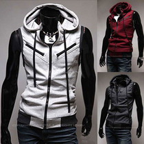 Chaleco Moda Europea Slim Fit Estilo Assassins Creed