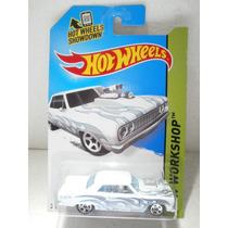 Hot Wheels 64 Chevy Chevelle Ss Blanco 233/250 2014