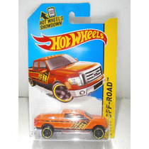 Hot Wheels Camioneta 2009 Ford F-150 Naranja 137/250 2014